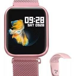 Smartwatch P 70 novo . As fotos são de clientes, o produto e novo