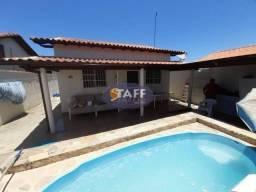 Cód:ke1401- Casa com 2 quartos e piscina lado praia em Unamar - Cabo Frio