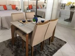 Mesa 4 Cadeiras Londrina 1.20 x 0.80 (PD)