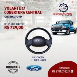 VOLANTE C/COBERTURA CENTRAL ORIGINAL FORD