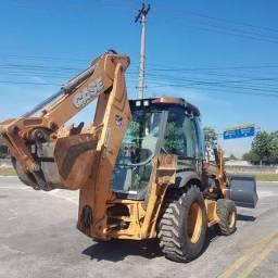 Retro Escavadeira Case 580n 4x4 2013 4.000hs!!!<br><br><br>