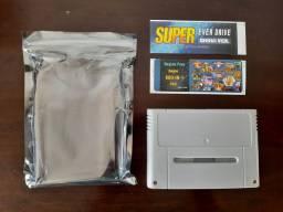Everdrive Super Nintendo NOVO - China Version 800 jogos com cartão de memória 8GB.