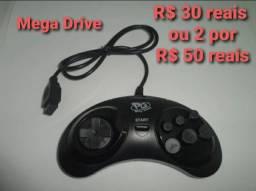 Controles mega drive