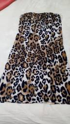 Vestido Onça.