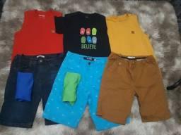 Kit de roupa 12 anos