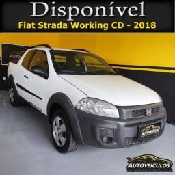 Título do anúncio: Fiat Strada working Hard CD - 2018