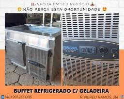 Buffet refrigerado com depósito para lanchonete ou restaurante - Refrisul | Matheus