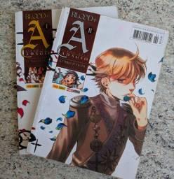 Título do anúncio: Manga Blood+ Adagio  Completo com 2 volumes