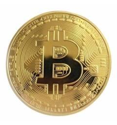 Título do anúncio: Moedas Bitcoin Física - Decoração