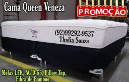 Título do anúncio: Cama Queen Queen Veneza Fibra de Bamboo ++ D-65 + Frete grátis Manaus