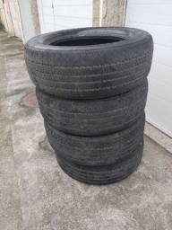 Título do anúncio: Vendo 4 pneus 255/60/18