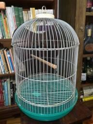 Gaiola de passarinho redonda