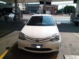 Título do anúncio: Toyota Etios 2014 IPVA 2021 pago já com placa Mercosul
