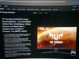 Monitor trabalho/gamer 32'' 165hz curvo 1500r painel va
