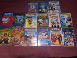 Título do anúncio: Vendo todos esses DVD de desenho