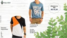 Camisetas Top - Masculina