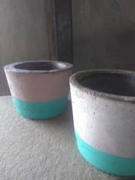 Vaso Artesanal de cimento