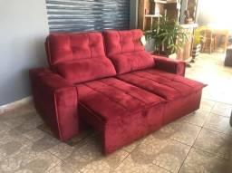 Jogo de sofá Retratil e reclinável novo