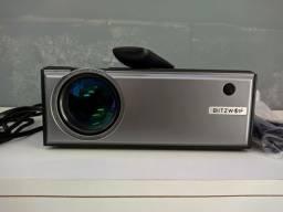 Projetor 2800 Lumens Blitzwolf® BW-VP1, TROCO EM TV <br><br>