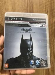 Jogo Batman arkham origins Ps3 mídia física
