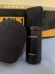 Kit microfone para estúdio