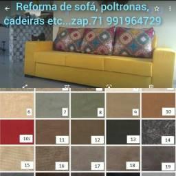 Título do anúncio: Reforma de sofá