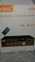 Amplificador novo na caixa