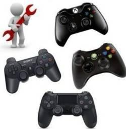 Título do anúncio: Consertamos Controles de Vídeo-Games (Loja GameStop)
