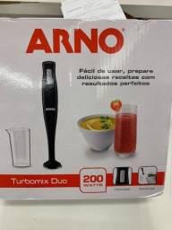Título do anúncio: Mixer Arno Turbomix DUO  200W ? Preto