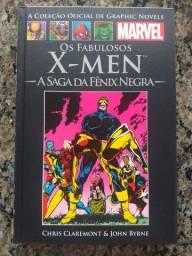 Título do anúncio: HQ X-Men A Saga da Fênix Negra (Salvat)