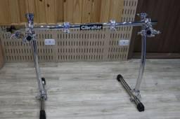 Rack Gibraltar GCS-400 (CURVO) - Com 8 clamps (12x sem juros) [Leia]