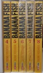 Título do anúncio: Mangás: Banana Fish 4 ao 8