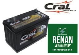 Promoção bateria Cral 100ah