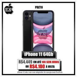 Iphone 11 Preto 64gb lacrado.