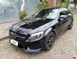 Mercedes C43 AMG - Aut.V6,  Bi-Turbo, Teto, 15.000Km - R$350.000,00