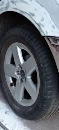 Título do anúncio: Roda e pneus aro 15 Audi a3