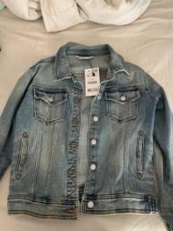 Título do anúncio: Jaqueta Jeans da Zara, nunca usada, ainda com etiqueta.