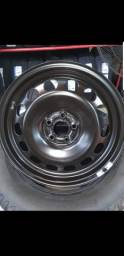 Rodas E calotas tcross original VW aro 16