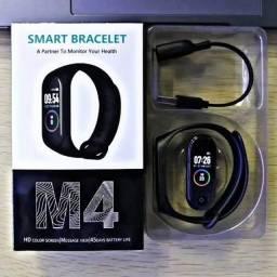 Título do anúncio: Relógio SmartBand M4 (entrega gratis)