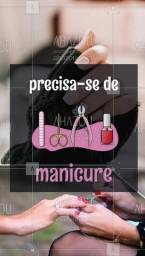 Título do anúncio: Contrata - se Manicure/Pedicure, com experiência