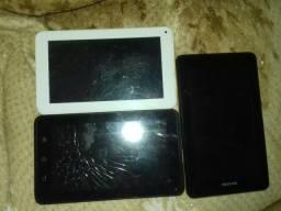Tablet para retirar peças