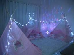 Cabaninhas tenda para festa do pijama barraquinhas