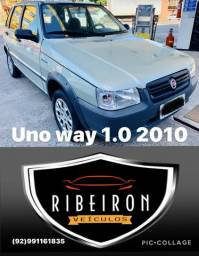 Fiat uno way 2010 completo - 2010