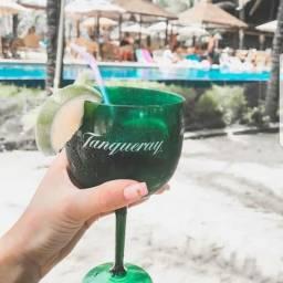 Taças Tanqueray Gin acrílico 100 unidades taça drink moda taca Gin, bar, Balada Eventos