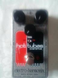 Pedal Electro Harmonix Hot Tubes Overdrive Nano Nyc DRive classico Old school rock