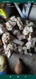Vendo rochas e substrato para quario
