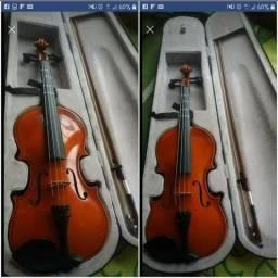 Violino Eagles Ve441 4/4 + Case + Arco e estojo e + o breu