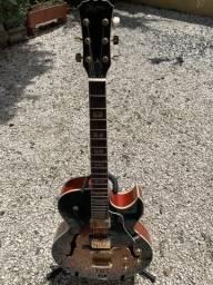 Guitarrra semi acústica hofma em perfeito estado!