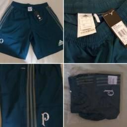 43976cdadc Bermuda Adidas Palmeiras Viagem 17 Tamanho M Original