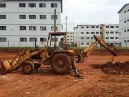 Retro escavadeira case bh 580 1983Vendo ou troco